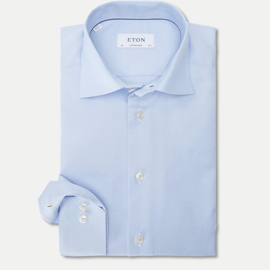 3153. - 3153 Signature Twill Skjorte - Skjorter - L BLÅ - 1